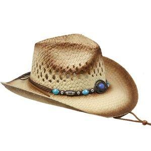 Other - KIDS WOMEN COWBOY HAT BEIGE 54CM